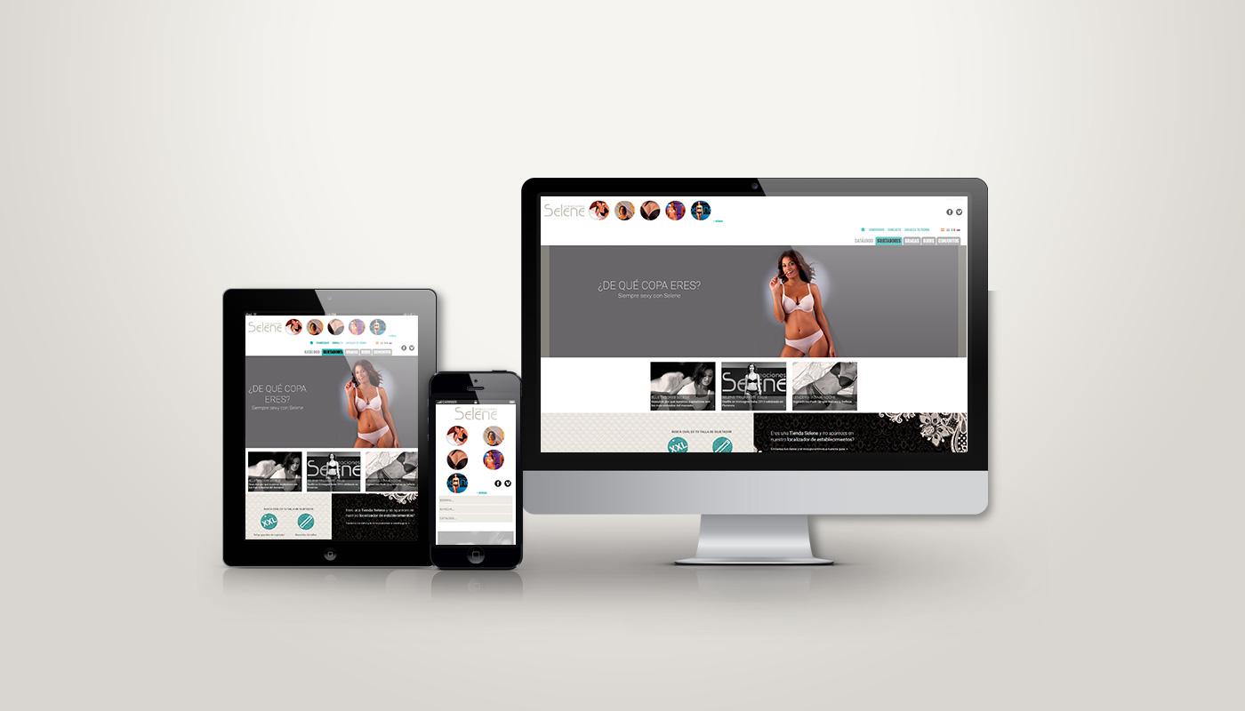 Web creaciones selene navarraweb for Catalogo selene