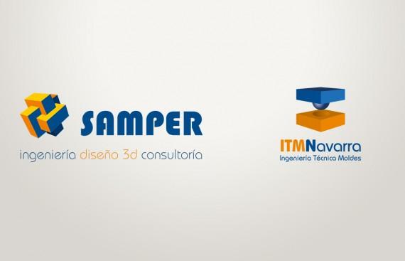 logos realizados para la empresa samper