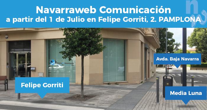 Navarraweb Comunicación: Calle Felipe Gorriti, 2, 31003 Pamplona