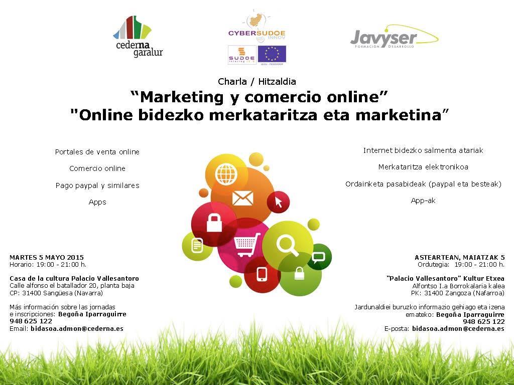 Charla sobre Marketing y Comercio Online